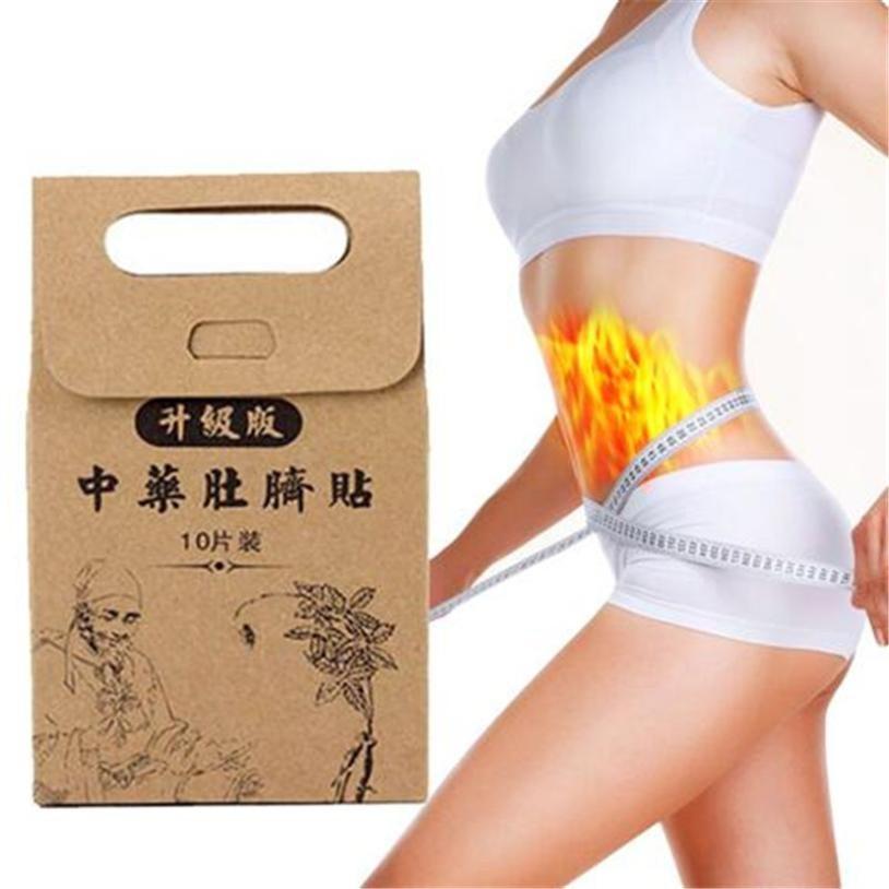 จัดส่งฟรี❤️ แผ่นแปะสะดือลดน้ำหนัก Slimming Patch Navel Patch 10 ชิ้น /