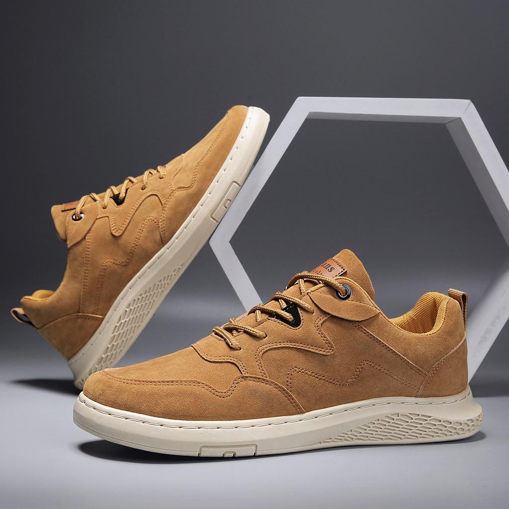 🔥พร้อมส่ง🔥 รองเท้า รองเท้าผู้ชาย รองเท้าผ้าใบ รองเท้าคัชชูผู้ชาย