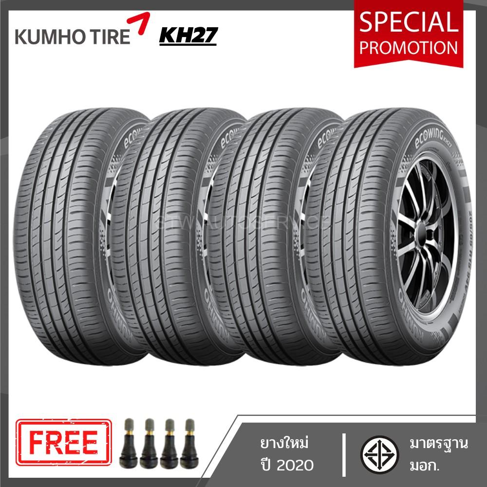 ยางรถยนต์ ยางใหม่ KUMHO KH27 185/65R14 ปี2020 (4 เส้น)