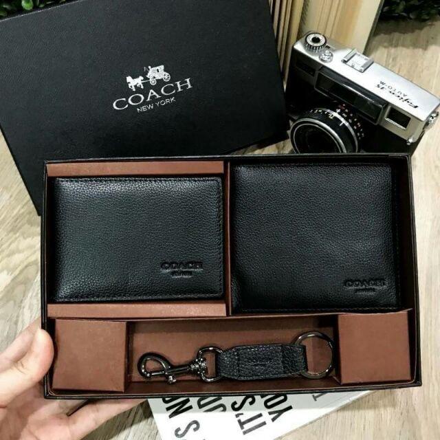 COACH Setกระเป๋าสตางค์ใบสั้น