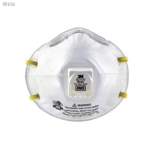 ▦3M หน้ากากกันฝุ่น คาดศรีษะ VFLEX N95 รุ่น  9105, 8210, 8210V, 9001