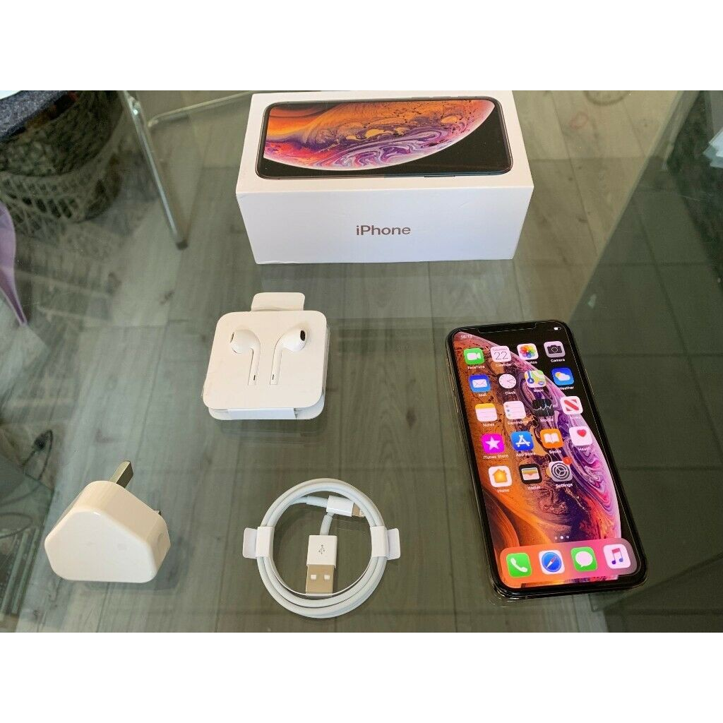 Gold Apple Iphone XS 64GB
