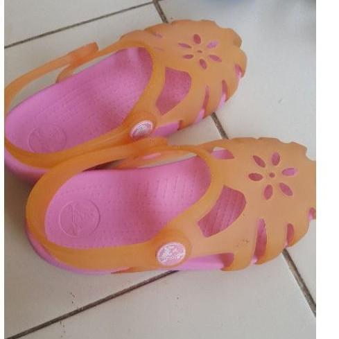 รองเท้าลำลองมือสอง crocs ขนาด 16 เซน