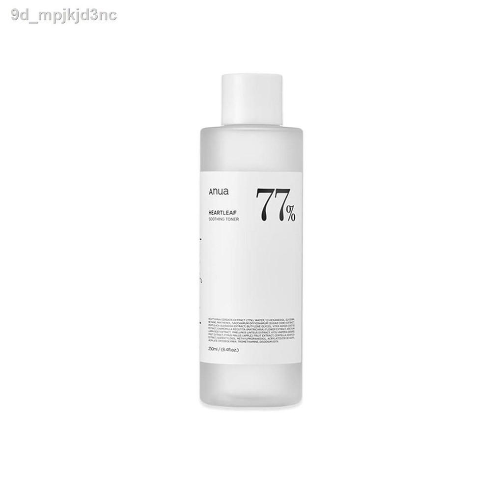 🔥มีของพร้อมส่ง🔥ลดราคา🔥♦❐✴ฮันพี่ชาย ANUA - Heartleaf 77% Soothing Toner 250 ml.