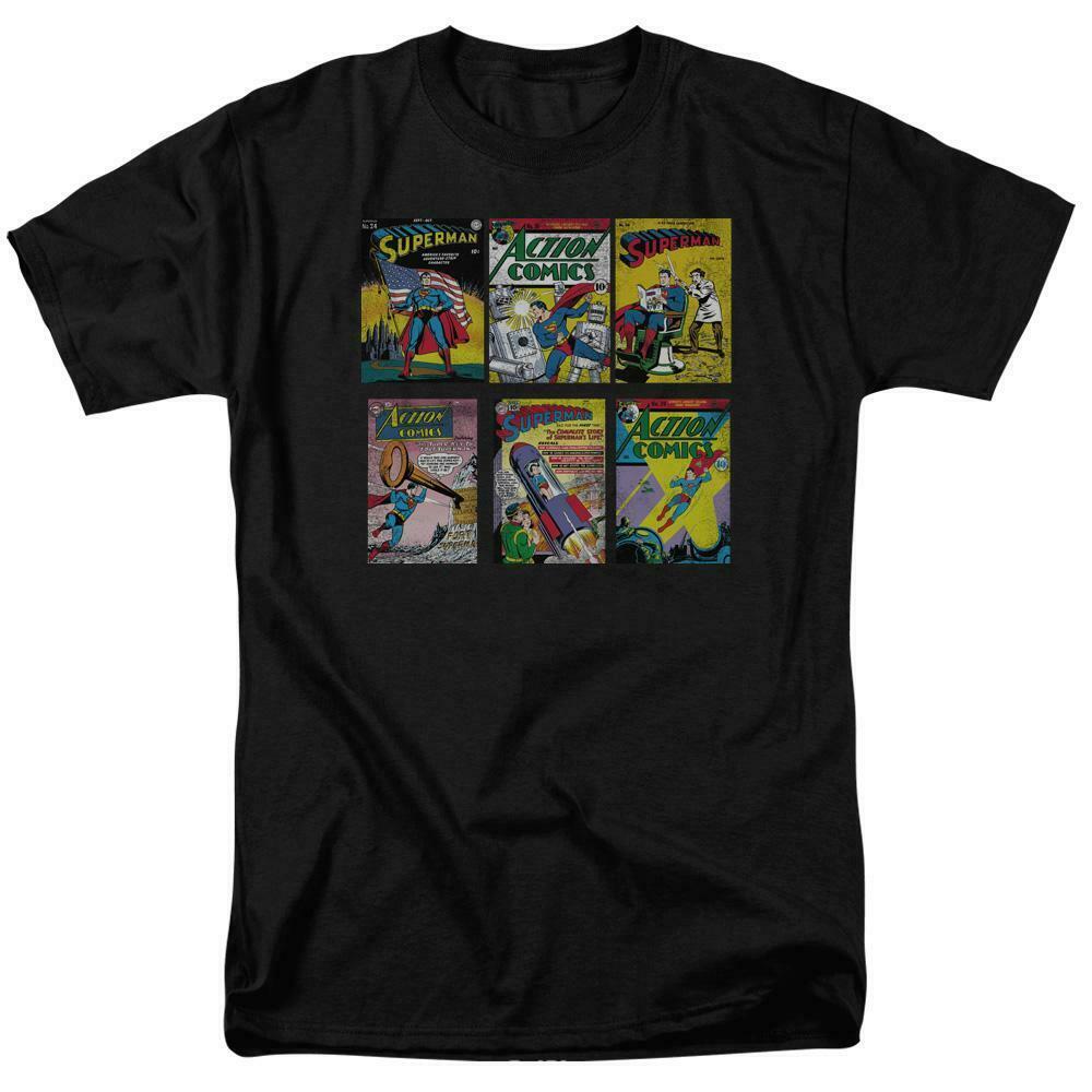 เสื้อยืด Superman Comic Books