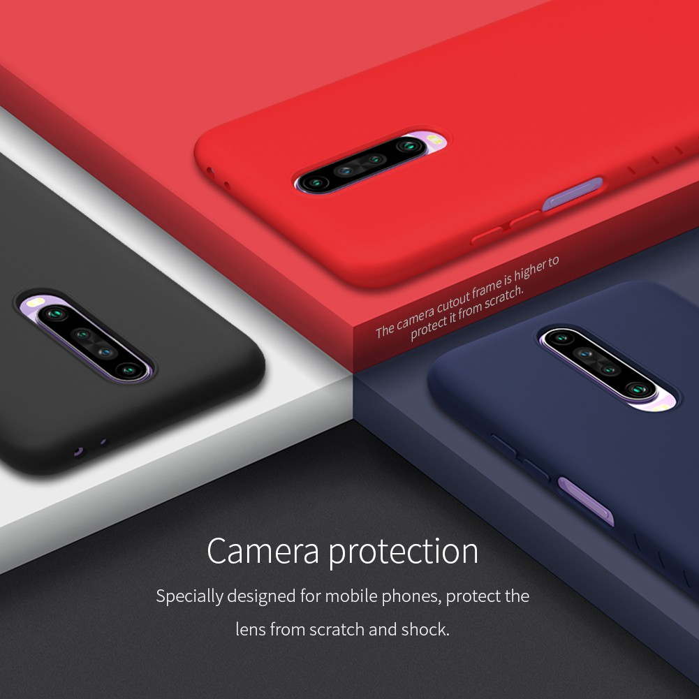 Image # 2 of Review [Xiaomi] เคส Nillkin Rubber Case Xiaomi Redmi K30 / Redmi Note 8 / Redmi Note 8 Pro / Redmi Note 7