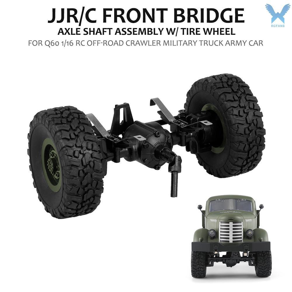 rcfa jjr/c เพลาล้อยางรถยนต์สําหรับ q60 q 61 1/16 rc off - road