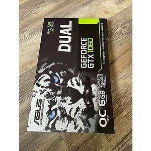 ASUS GeForce GTX 1060 6GB Dual-Fan OC Edition GPU Graphics Card