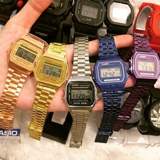 💥สิ้นค้าขายดี 💯 Casio สายสแตนเลส นาฬิกาข้อมือ คาสิโอ้ 💥 พร้อมส่ง