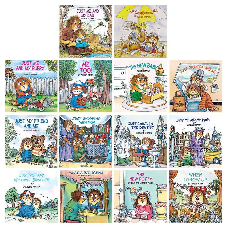 Hot Books Little Monster Little Hairy Man Series 14 หนังสือสําหรับเด็ก