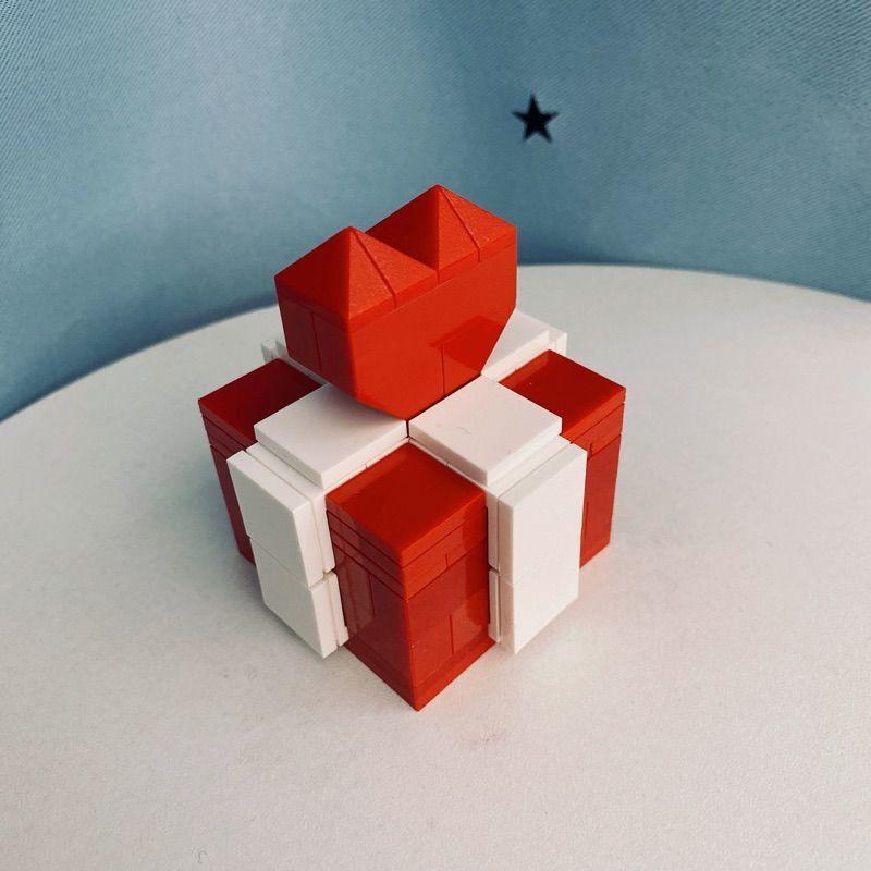 ღღLEGO กล่องเครื่องประดับกล่องเครื่องประดับแหวนลายเลโก้ Proposal Ring 8cro