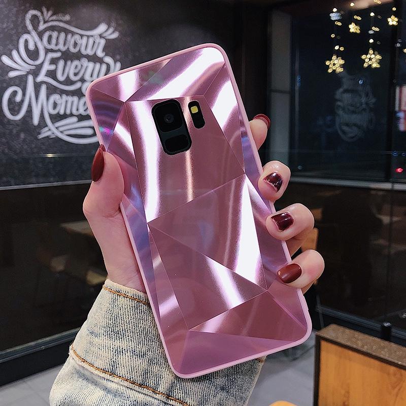 Samsung Galaxy A8 A6 Plus A9 A7 2018 A5 2017 A520 A720 A9 Star Pro 3D Diamond Case Fashion Cover