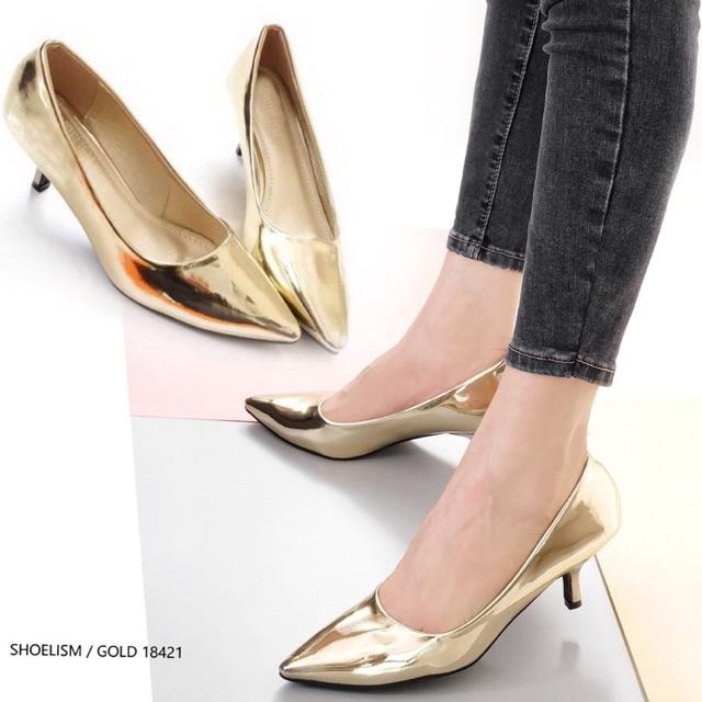 รองเท้า คัชชู ส้นสูง รองเท้าคัชชู