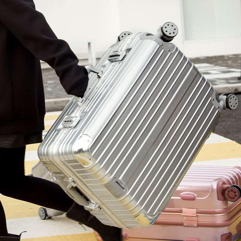 กระเป๋าเดินทางมีล้อเลื่อน 20 กระเป๋าเดินทาง 24 รหัส 26