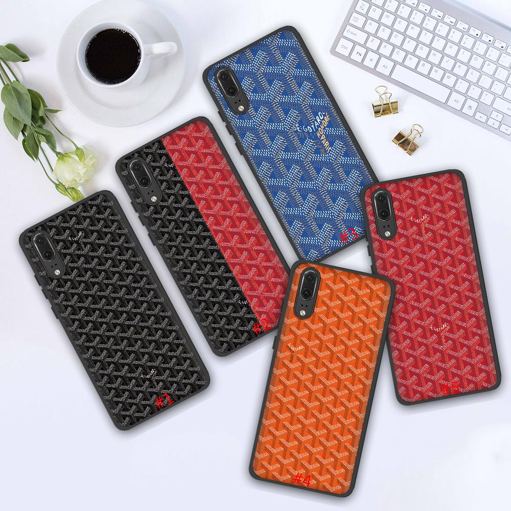 เคสโทรศัพท์มือถือพิมพ์ลาย Goyard สําหรับ Huawei P40 Pro Max Honor 20s 20 30 V 30 Pro