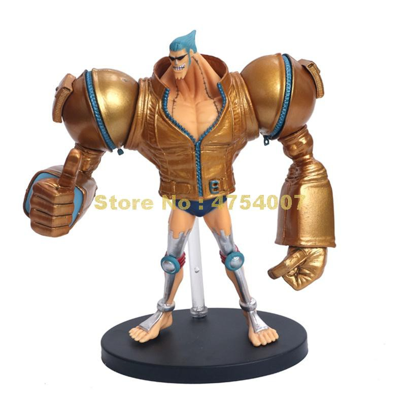 anime one iece film gold franky action figure 18cm Toy