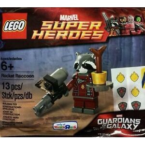 LEGO Marvel Super Heroes :  Rocket Raccoon polybag
