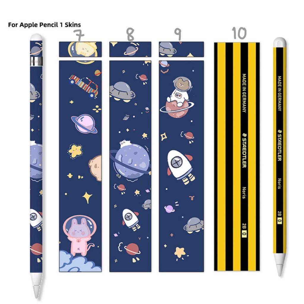 ✿☞[ถูกที่สุด🔥] ฟิล์มปากกา applepencil sticker รุ่นที่1/2 น่ารักๆ พร้อมโปรโมชั่น3แถม1[1]