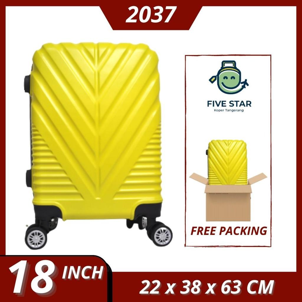 กระเป๋าเดินทางแบบแข็ง 18 นิ้ว 2037