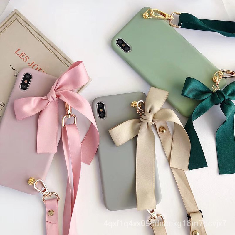 Bow tie bag soft silicon phone case for iphone 6 7 8 Plus X XS XR MAX 11 Pro for samsung Galaxy S8 S9 S10 Note 10 A50 A7