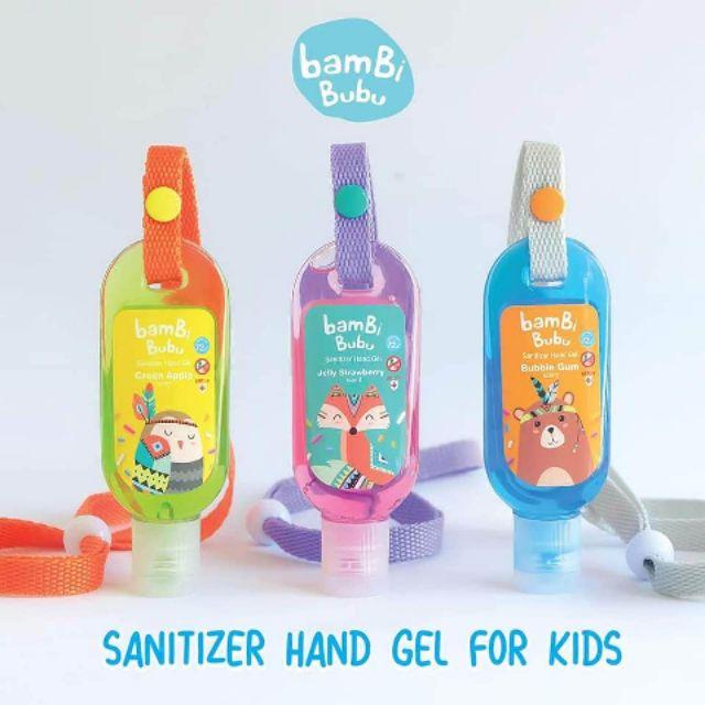 Bambi Bubu เจลล้างมือสำหรับเด็ก