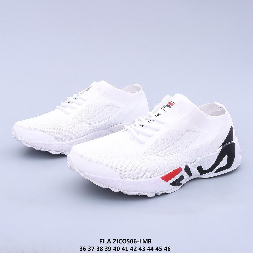 Fila รองเท้าวิ่งรองเท้าผ้าใบระบายอากาศ [Zgh2008]