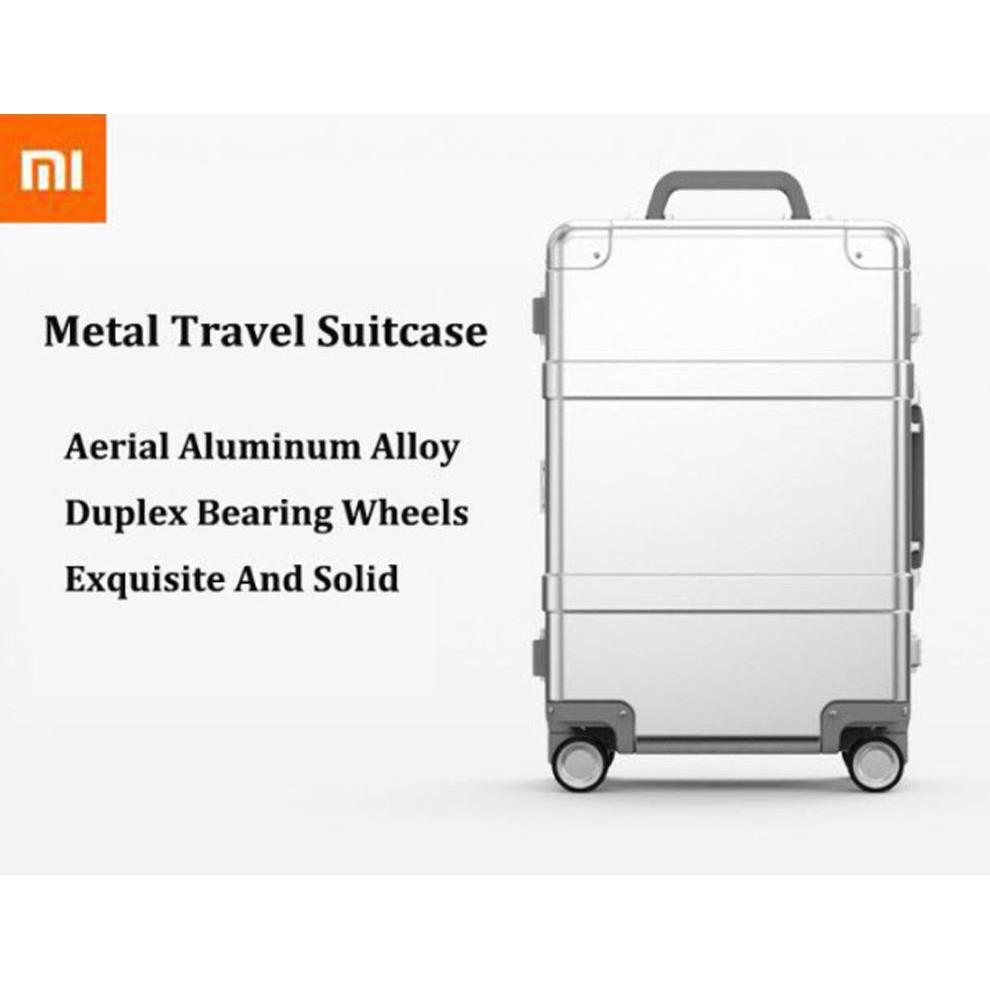 "(Pre-Order) Xiaomi 90 Smart Metal Travel Suitcase 20"" - กระเป๋าเดินทางล้อลากเหล็กอัจฉริยะ ขนาด 20 นิ้ว (รุ่นบูลทูธ)"