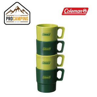 COLEMAN JAPAN EASY-CLEAN MUG 4pc