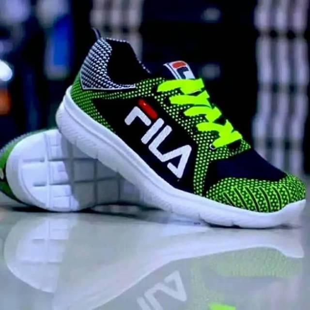 รองเท้าผ้าใบ Fila รองเท้าวิ่งสําหรับผู้ชาย