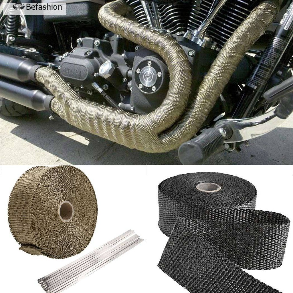 Cheapest Price Befashion 10m Electrical Insulation Tape Cloth Heat Resistant Wiring Roll Mototrcycle Accessory