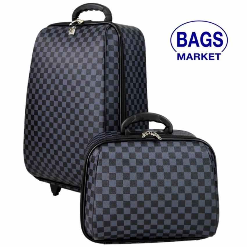 กระเป๋าเดินทาง กระเป๋าเดินทางล้อลาก Wheal เซ็ทคู่ลิขสิทธิ์ของแท้ 20/14 นิ้ว Louise Grey Cla กระเป๋าล้อลาก กระเป๋าเดินทาง