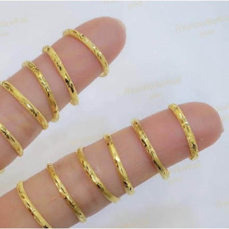แหวนทองแท้ 0.4 กรัม แท้ 100%