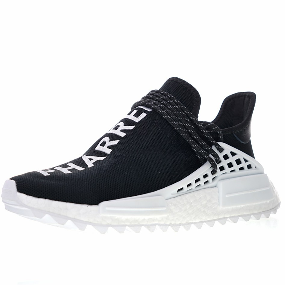 detailed look 39be5 8891f รองเท้าผ้าใบ chanel X Pharrell x Adidas NMD Human Race Trail Human  Avant-Garde