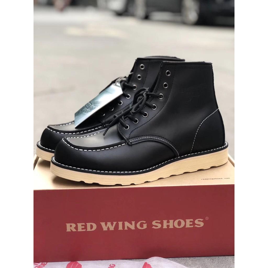 RED WING คลาสสิกแห่งศตวรรษ 875 ซีรี่ส์ รองเท้าบูทมาร์ติน รองเท้าทำงาน
