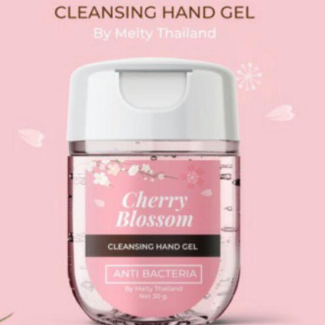 เจลล้างมือ ขนาดพกพา30ml กลิ่นcherry blossom  🌸 Hand gel   🌸 Hand sanitizer  มีส่วนผสมของแอลกอฮอล์75%