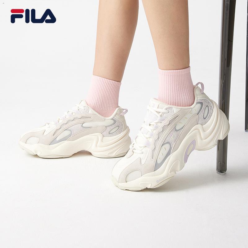 ✒✱FILA Fila รองเท้าเก่า, รองเท้าเสือดาว, รองเท้าผู้หญิง, ฤดูใบไม้ผลิ 2021 รองเท้าแฟชั่นลำลอง, รองเท้ากีฬา, รองเท้าวิ่ง,
