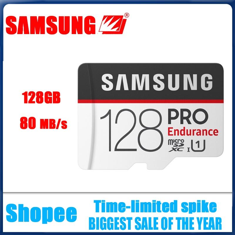การ์ดหน่วยความจำสำหรับ Samsung Pro Class 10 Micro SD 128 GB SDXC