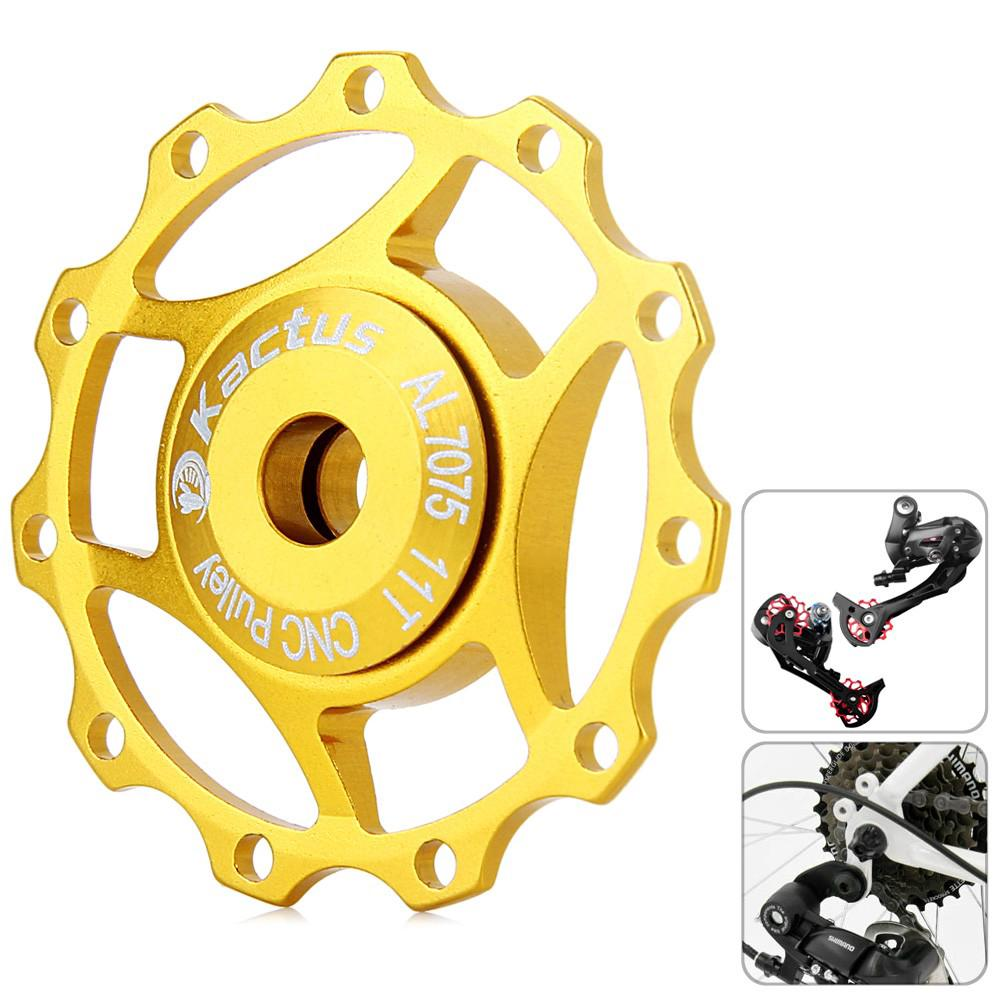 Discount [3C] Kactus A10 Aluminium Alloy Material 11T Guide Roller Wheel Rear Derailleur Pulley for SHIMANO SRAM / 7 / 8 / 9 / 10 buy - เท่านั้น ฿109