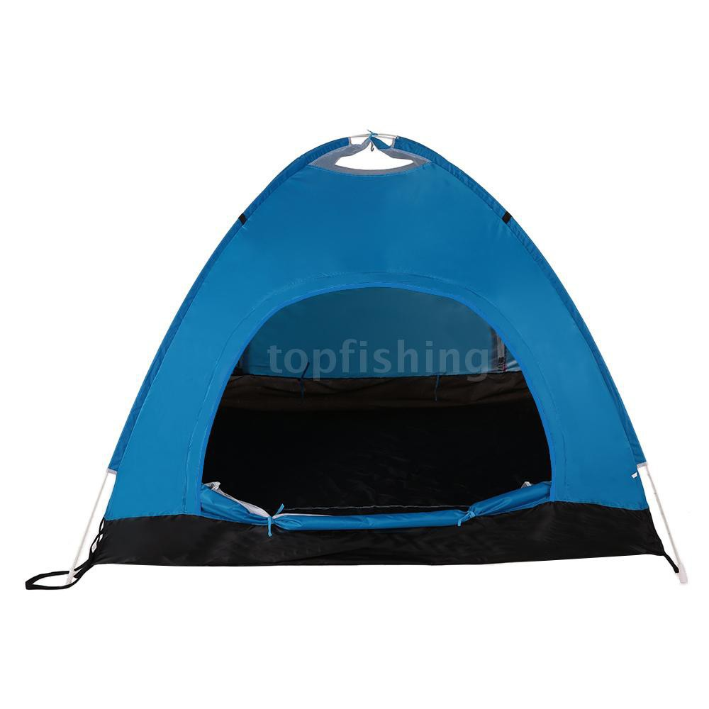3-4 Man Person Pop Up Camping Tent Waterproof Outdoor Hiking Beach Sun Shelter