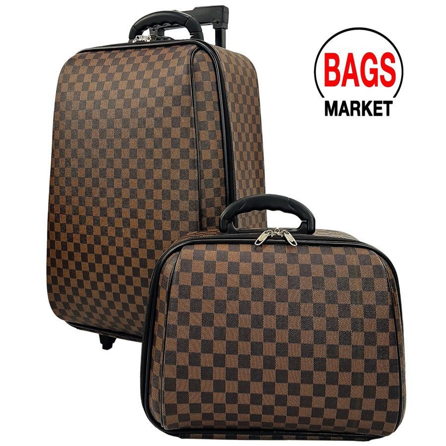 กระเป๋าเดินทาง กระเป๋าเดินทางล้อลาก Wheal เซ็ทคู่ ลิขสิทธิ์ของแท้ 20/14 นิ้ว Louise Brown C กระเป๋าล้อลาก กระเป๋าเดินทาง