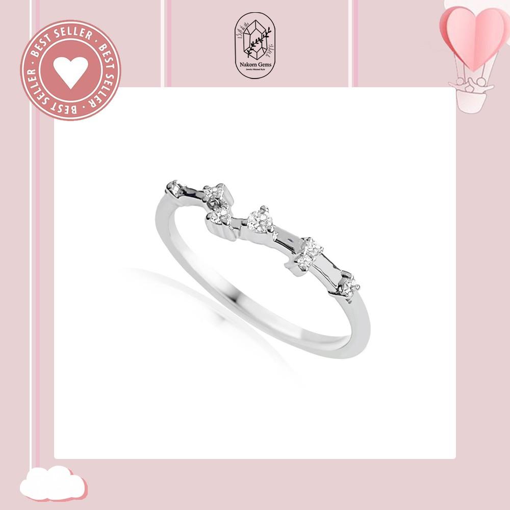 Nakorn Gems แหวนทองแท้9K (ทอง37%) หนัก1.2 กรัม ฝังเพชรแท้หนัก0.011ตัง ใส่ของปลอมกันอยู่ทำไม..ในเมื่อของแท้ราคาจับต้องได้
