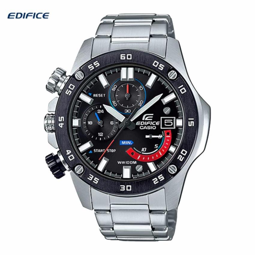Casio Edifice นาฬิกาข้อมือผู้ชาย สายสแตนเลส รุ่น EFR-558DB-1A