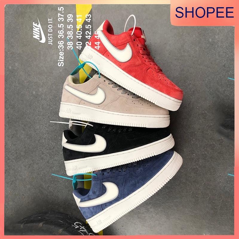Nike Air Force 1 Mid '07 3M รองเท้าผ้าใบสะท้อนแสงต่ำสะท้อนแสง