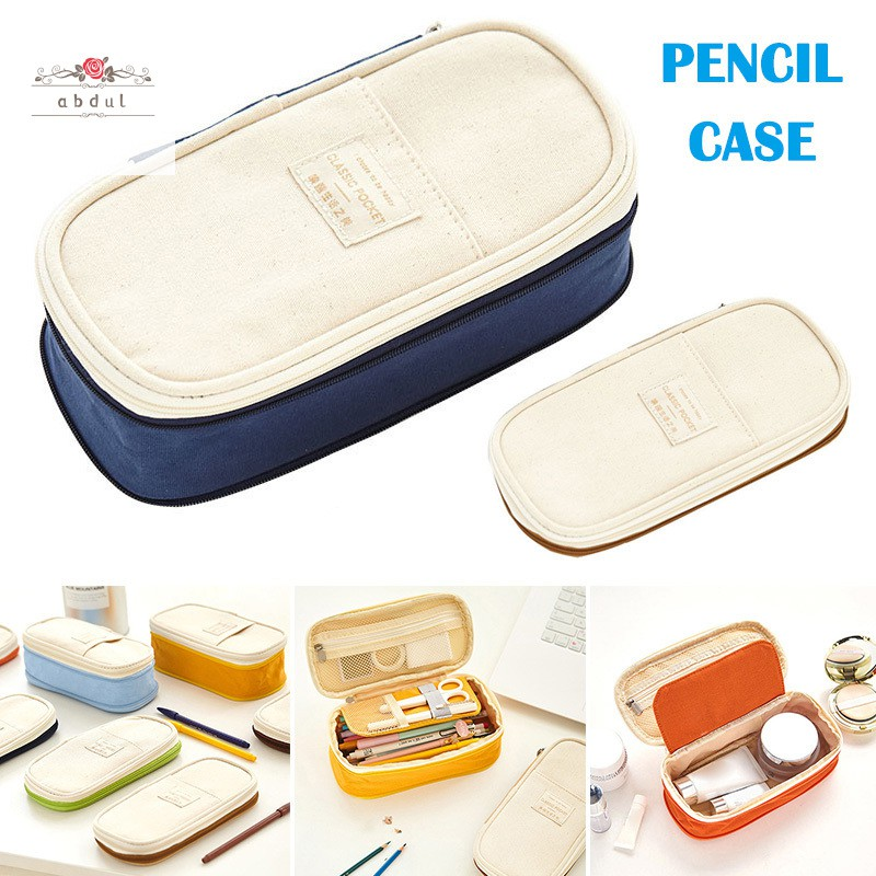 Telescopic Macaron Color Pencil Case