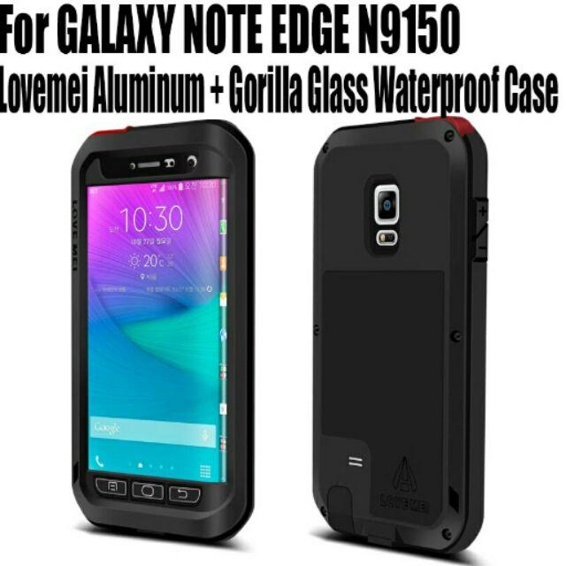 เคส Galaxy Note 3 Huawei Sony Xperia iPhone กันกระแทกไฮบริด LOVEMEI Metal Aluminum with Gorilla Glass Heavy Duty | Shopee Thailand