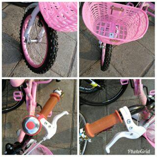 (เก็บเงินปลายทาง)รถสามล้อเด็กสีชมพูพี่ขี่น้องนั่ง