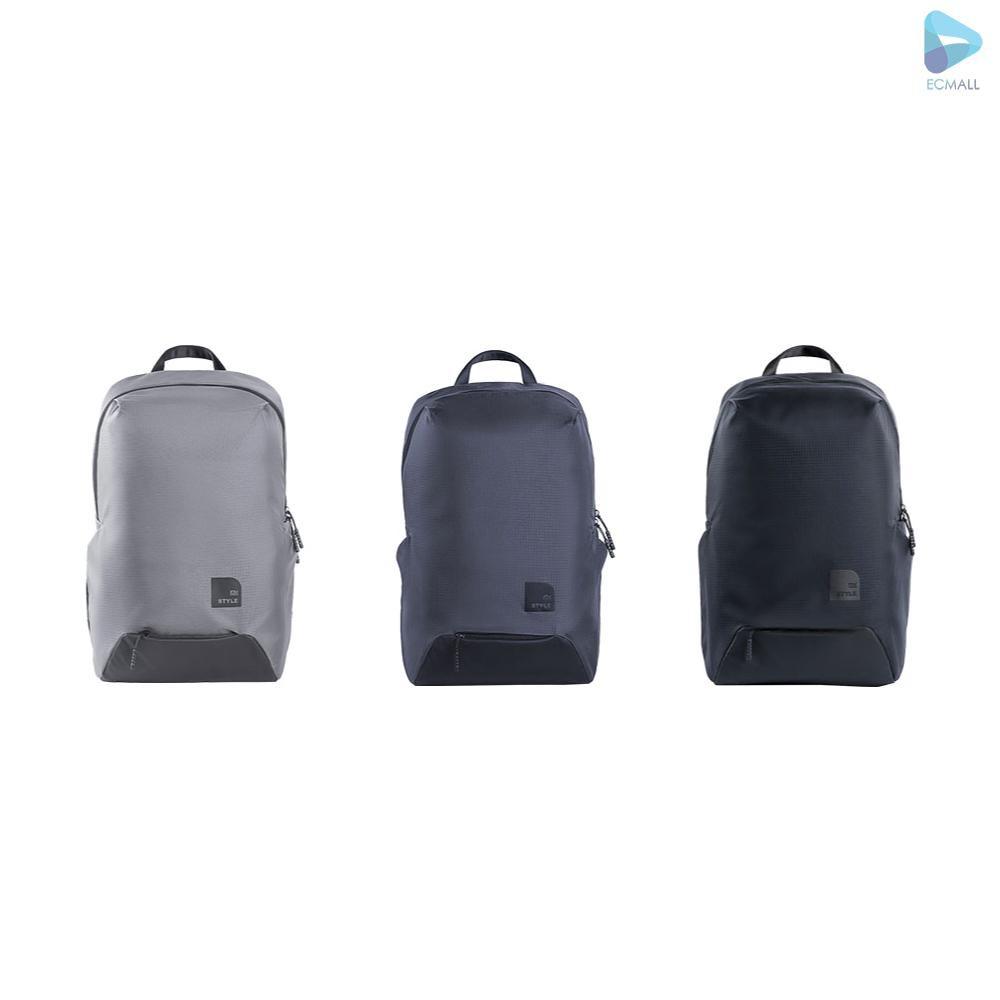 ecmall xiaomi กระเป๋าเป้สะพายหลังกระเป๋าเดินทางกระเป๋าแล็ปท็อปขนาด 15 . 6 นิ้ว