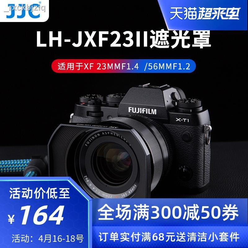 【ราคาต่ำสุด】☢❖☼JJC เหมาะสำหรับ Fuji XF23mmF1.4 เลนส์ฮูด XF56F1.2R APD ทั่วไป X-PRO2 XT30 XT4 X-T4 กล้อง