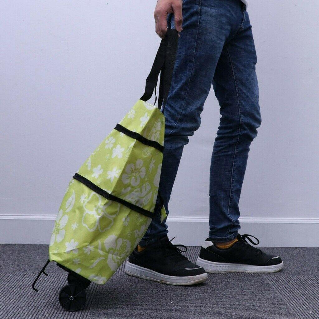 พร้อมส่ง กระเป๋ามีล้อ กะเป๋ามีล้อ ถุงผ้าพับได้ ถุงช้อปปิ้ง ถุงผ้าพกพา กระเป๋าเดินทางใบเล็ก กระเป๋าล้อลาก ถุงผ้าช้อปปิ้ง