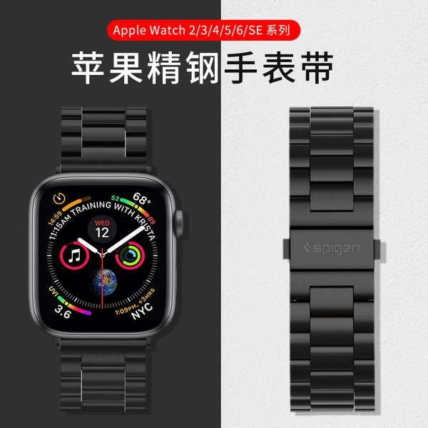 สาย applewatch Spigen สายนาฬิกา Applewatch ที่ใช้งานได้ iwatch6 / 5/4/3/2 รุ่น 6se สายนาฬิกา Apple 42 มม. ชายและหญิง 44